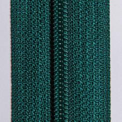 Молния брючная тип-4 (полуавтомат) 20 см - цвет темно зелёный