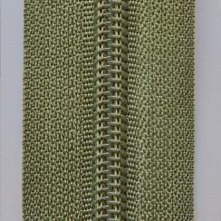 Молния брючная тип-4 (полуавтомат) 20 см - цвет хаки