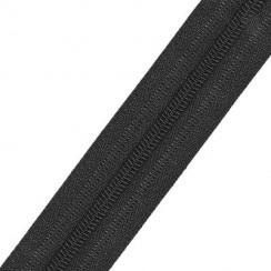 Молния рулонная спираль тип -5 - черный (в упаковке 200м)