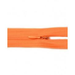 """Молния """"потайная"""" тип-0 50 см цвет оранжевый"""