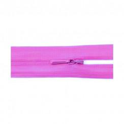 """Молния """"потайная"""" тип - 0 50 см цвет ярко-розовый"""