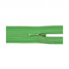 """Молния """"потайная"""" тип 0 20 см - цвет зелёный"""