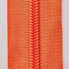 Молния юбочная тип-3 (полуавтомат) 20 см - цвет оранжевый