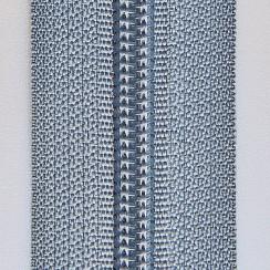 Молния юбочная тип-3 (полуавтомат) 20 см - цвет серый