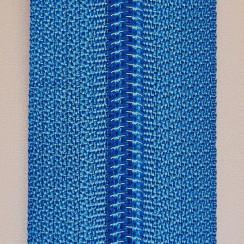 Молния юбочная тип-3 (полуавтомат) 20 см - цвет василек