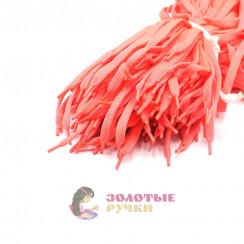 Шнурки кроссовочные, длина - 100 см, ширина - 17 мм,  (уп 50 пар )  цвет ярко-оранжевый