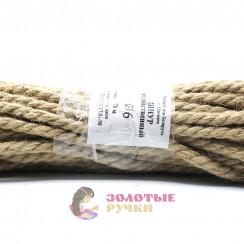 Шнур бытовой льняной, 6 мм, (20 метров)
