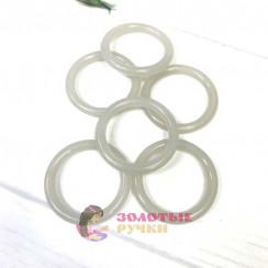 Кольцо для штор d-38мм 50шт, цвет прозрачный