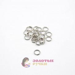 Кольцо для бус цвет серебро в упаковке 100 шт