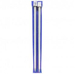 Тефлоновые прямые спицы  для вязания  35СМ 10.00 ММ