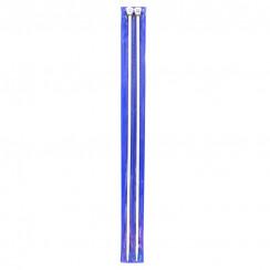 Тефлоновые прямые спицы  для вязания  35СМ 4,5 ММ