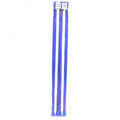 Тефлоновые прямые спицы  для вязания  35СМ 8.00 ММ