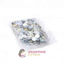 Стразы клеевые круглые 12мм (упаковка - 200шт) цвет АВ хамелеон