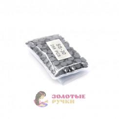 Стразы клеевые стекло SS 30 (упаковка - 288шт) цвет черный
