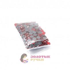Стразы клеевые стекло SS 30 (упаковка - 144шт) цвет красный
