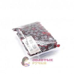 Стразы клеевые стекло SS 20 (упаковка - 720шт) цвет красный