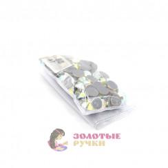 Стразы клеевые стекло SS 40 (упаковка - 144шт) цвет АВ хамелеон