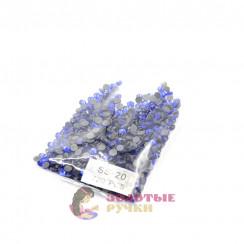 Стразы клеевые стекло SS 20 (упаковка - 720шт) цвет василёк