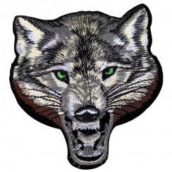 """Термоаппликации для одежды (уп 10шт) размер 10*9см """"Волк"""" цена за упаковка"""