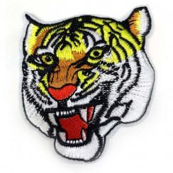 """Термоаппликации для одежды """"Тигр"""" 7*8см в уп 20шт. цена за уп"""