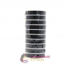 Нить эластичная для бисероплетения (уп. 10шт.) диаметр 0,7мм (11м) черный