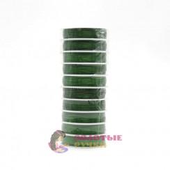 Проволока для бисероплетения (уп. 50 м), диаметр 0,3 мм - цвет зеленый