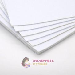 Фетр размер 20х30 толщина 2мм цвет белый