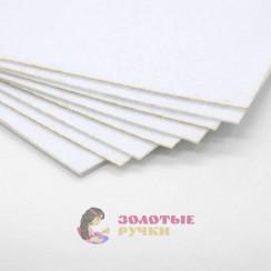 Фетр размер 20х30 толщина 1мм цвет белый