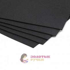 Фетр размер 20х30 толщина 1мм цвет черный
