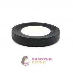 Флористическая тейп - лента цвет черный 1 рулон 30 ярд