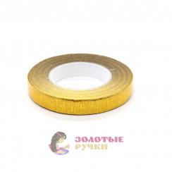 Флористическая тейп - лента цвет золото 1 рулон 30 ярд