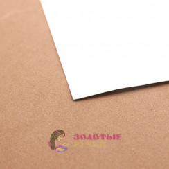 Фоамиран для цветов размер 50*50 толщина 1мм цвет белый
