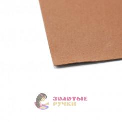Фоамиран для цветов размер 50*50 толщина 1мм цвет коричневый