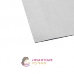 Фоамиран для цветов размер 50*50 толщина 1мм цвет серый