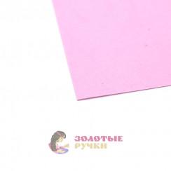 Фоамиран для цветов размер 50*50 толщина 1мм цвет сиреневый