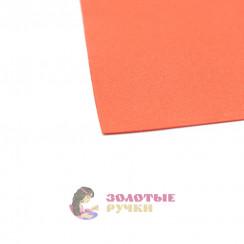 Фоамиран для цветов размер 50*50 толщина 1мм цвет красный