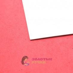 Фоамиран для цветов размер 50х50 толщина 2мм цвет белый