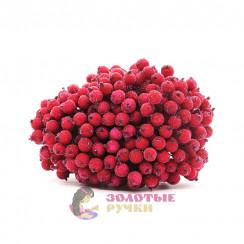 Ягоды в сахаре для декорация в упаковке 400 шт цвет красный