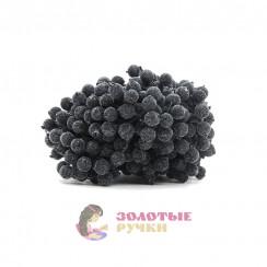 Ягоды в сахаре для декорация в упаковке 400 шт цвет черный