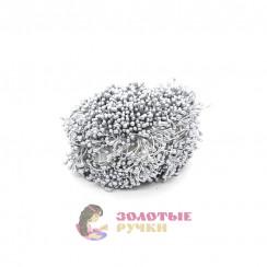 Тычинки длина - 3мм (уп. 1650-1800шт) цвет серый