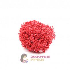 Тычинки длина - 3мм (уп. 1650-1800шт) цвет красный